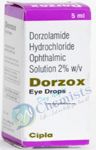 DORZOX 2% 5 ML EYE DROP