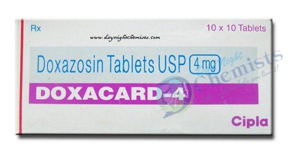 Doxacard 4 MG Tablet