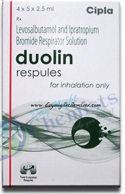 DUOLIN RESPULES 1.25 MCG+ 500 MCG