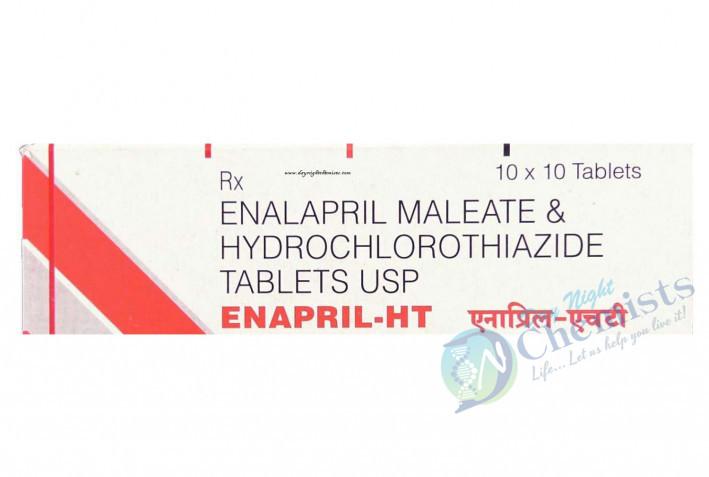 Enapril Ht 10 Mg/25 Mg Tablet