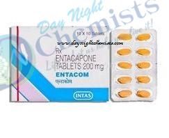 Entacom 200 mg Tablet