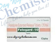 Felogard 10 mg Tablet