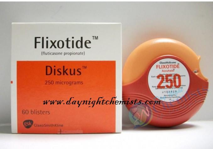 FLIXOTIDE DUSCUS 250 MCG