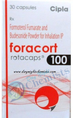 FORACORT ROTACAPS 100 MCG+6 MCG