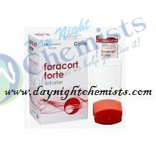 FORACORT FORTE INHALER 12/400 MCG (120MDI)