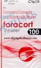 FORACORT INHALER 6/100 MCG