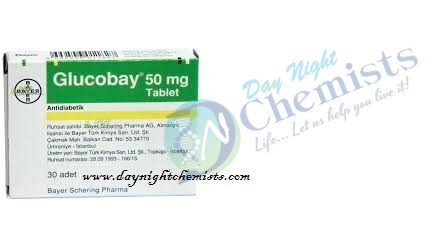 Thuoc glucobay 100mg tablet