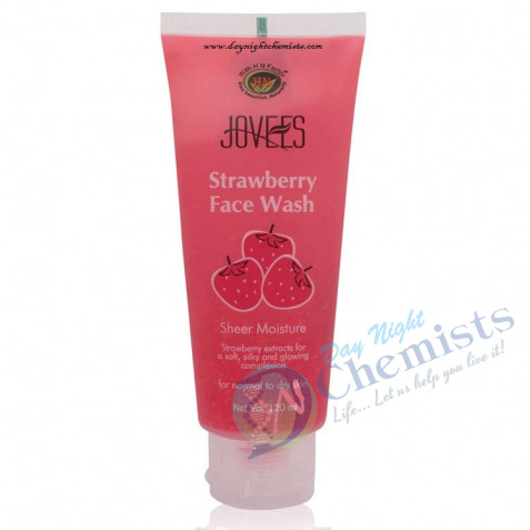 STRAWBERRY FACE WASH (FOR NORMAL $NORMAL TO DRY SKIN) 50 ML
