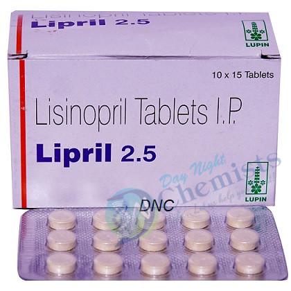 Lipril 2.5 Mg
