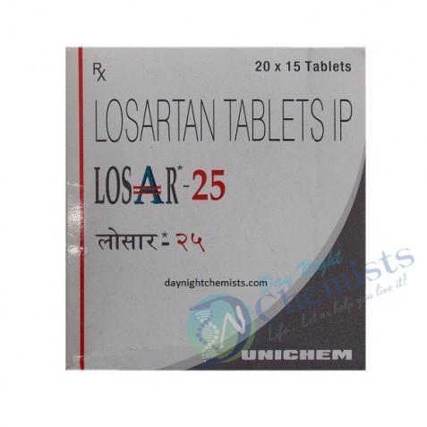 LOSACAR 25 MG