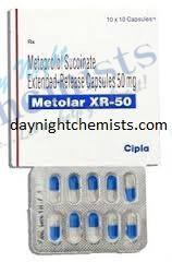 Metolar XR 50 mg
