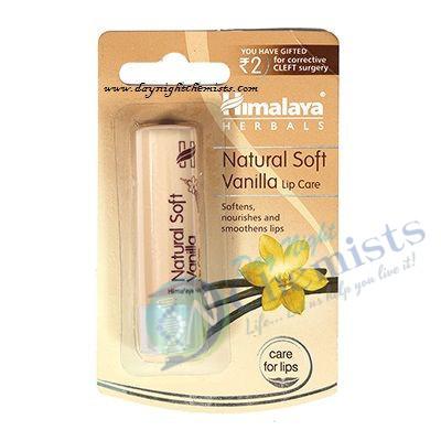 NATURAL SOFT VANILLA LIP CARE (HIMALAYA) 4.5 GM