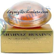 SHAHNAZ 24 CARAT NATURE S GOLD BEAUTIFYING MASK 40GM