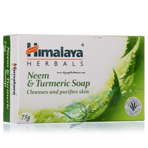 NEEM & TURMERIC SOAP (HIMALAYA) 75GM