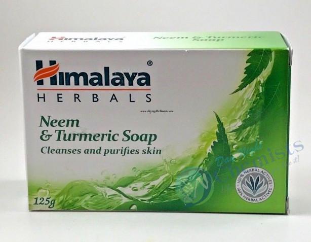 NEEM & TURMERIC SOAP (HIMALAYA) 125 GM