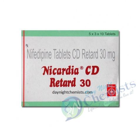 NICARDIA -CD 30 MG