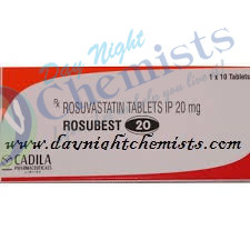 Rosubest 20 MG Tablet