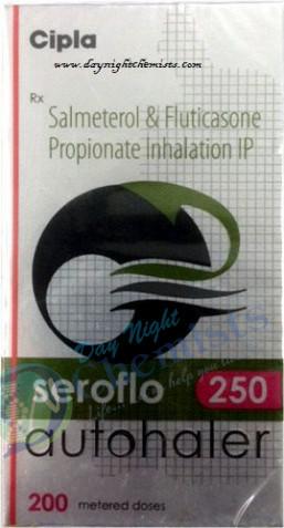 SEROFLO AUTOHALER 25 MCG +250 MCG (200MDI)
