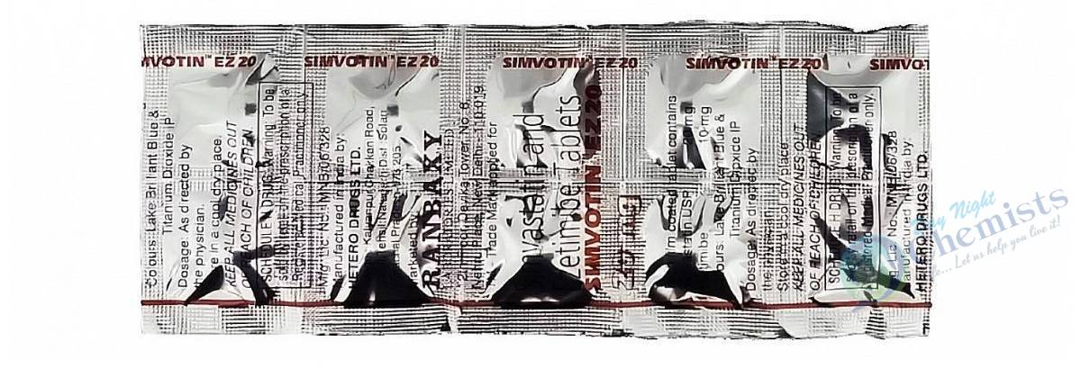 SIMVOTIN EZ 10+20 MG