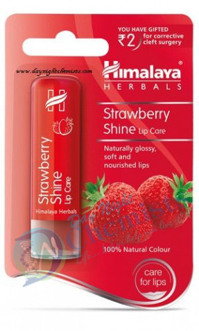 STRAWBERRY SHINE LIP CARE (HIMALAYA)