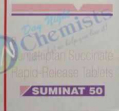 Suminat 50 mg Tablet