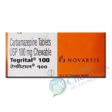 TEGRITAL (CHEWABLE TABLET'S) 100 MG