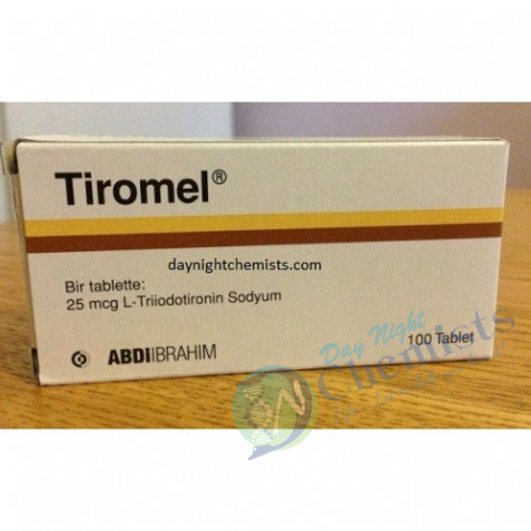 TIROMEL 25 MCG