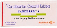 Candesar 8 mg Tablet