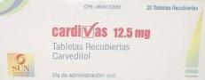 Cardivas 12.5 MG Tablet