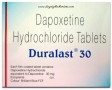 Duralast 30 mg Tablet (Dapoxetine)